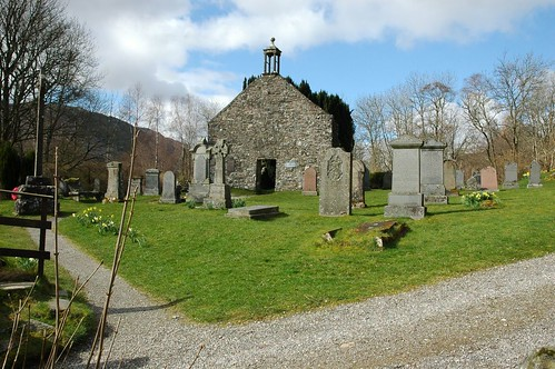 Rob Roy MacGregors resting place, Balquhidder Church