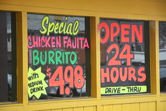 Goodbye 24 Hour Mexican Food