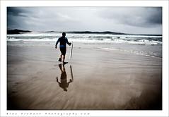 Barry (~* Rae Rae *~) Tags: ocean reflection beach clouds newcastle sand surf waves australia nsw flippers thebay bodyboarder annabay onemilebeach raethrenoworthphotography blueelementphotography blueelement