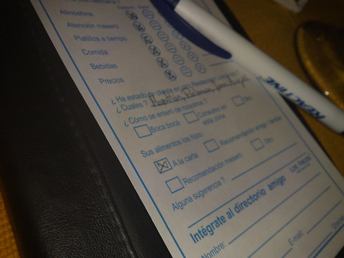 Satisfaction survey by ricardore, on Flickr