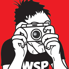 World Scenic Photo Icon (faith goble) Tags: camera art illustration advertising logo artist photographer bluegrass drawing kentucky ky faith vivid poet writer wacom vector adobeillustrator artisticexpression bowlinggreenky redwhiteandblack goble manwithcamera golddragon bowllinggreen faithgoble worldscenicphoto grafixer ccbyfaithgoble gographix faithgobleart