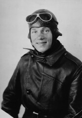 Airmail pilot Max Miller (Smithsonian Institution) Tags: smithsonianinstitution pilot airmail usps millermax airgoggles smiling aviation uniform maxmiller postoffice plane goggles aviator blackandwhite portrait man 1919 norwegian male nationalpostalmuseum mailacrossthecommons usairmail miller