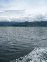 boat's-eye view (maveric2003) Tags: costarica arenal lakearenal manmadelake jeepboatjeep