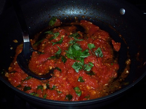 tomato garlic basil sauce