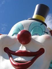 las vegas: scary clown