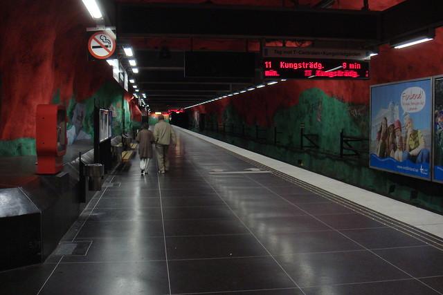 Solna Metro Station