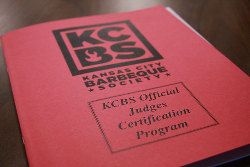 KCBS Judge Program