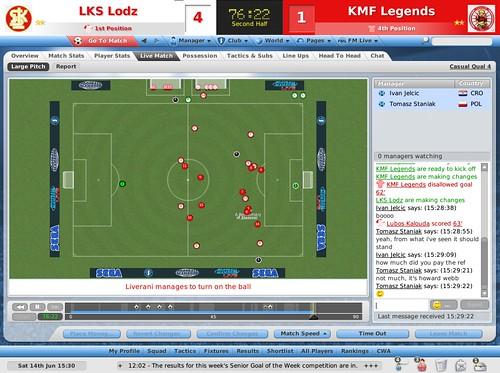 футбол онлайн результаты