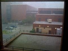 Amazing hail in Buffalo