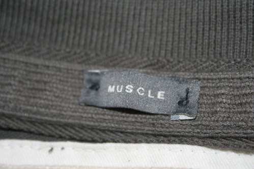 Fake 'muscle' label