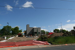 Construction continues on Sonic Drive-In, opening day 7/21/08 (anglerove) Tags: minnesota wideangle tamron elkriver sonicdrivein 1118mm tamron1118mm tamron1118 tamronspaf1118mm futuresonicdrivein
