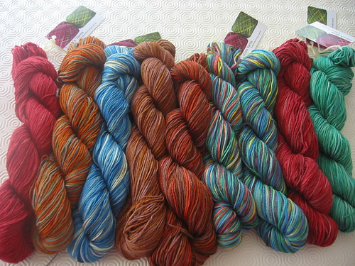 Hand-dyed Soy Silk