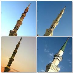 """""""Çağrı... (g ü L â L e) Tags: medine mescidinebevi minareleri günün4vakti herbiribambaşkagüzel huhularakarışsınaminler"""