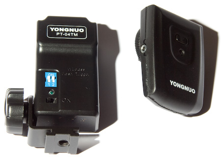 Yongnuo radio flash triggers