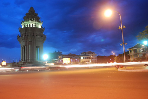 Phnom Penh's Independence Monument