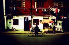 (HKmPUA) Tags: china film lomo lca xpro lomography shanghai kodak slidefilm crossprocessing   shanghaiist ektachrome e100vs  liyuan russiancameras etoc omo ec