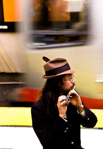 Fiddler on the Muni