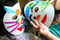 Crafting with Kids : Mask