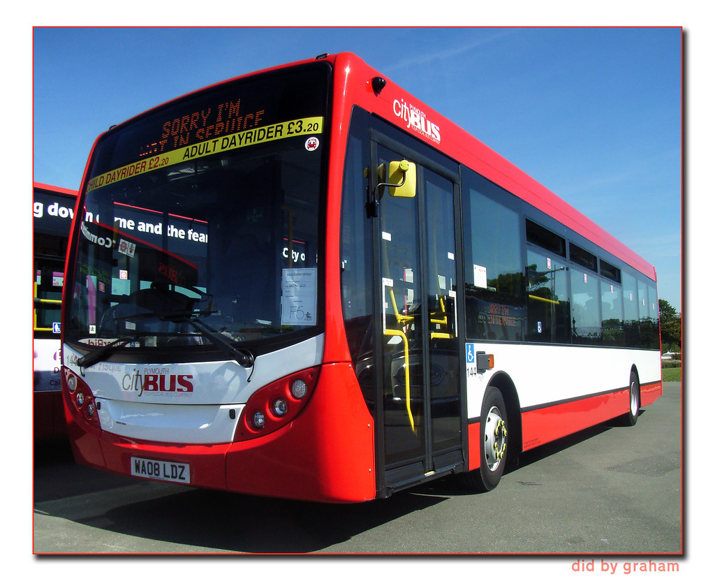 Plymouth Citybus 144 WA08LDZ (by didbygraham)