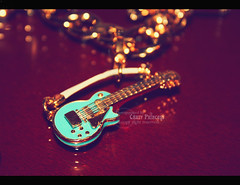 iRock (Crazy Princess) Tags: blue rock gold punk princess guitar charm rocker juicycouture irock crazyprincess