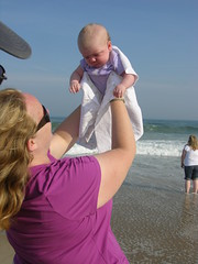 FLYING BABY!!! (Ludeman99) Tags: sarah samantha amagansett thehamptons summertrip2008 eowynsfirstroadtrip eowynlouisebitner
