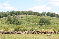 Little Round Top from the 11th US Monument