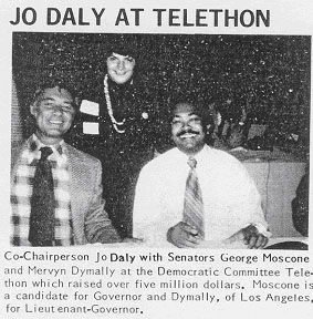 Jo Daly at Telethon