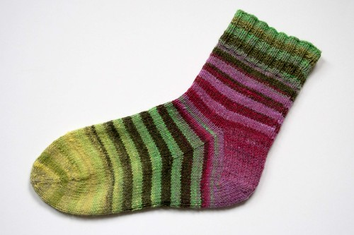 noro striped sock