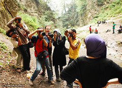 Photographers! (Hamzeh Karbasi) Tags: waterfall model flickr photographer iran gathering iranian  mahsa gorgan   golestan    hamzeh ziarat karbasi    modarresi upcoming:event=916887