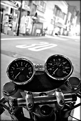 Cockpit (Noisy Paradise) Tags: longexposure monochrome blackwhite sigma norton dp motorcycle  blackdiamond foveon   dp1  sigmadp1 doubledragonawards noisyparadise