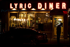 Lyric Diner 11pm by David Gallagher, on Flickr
