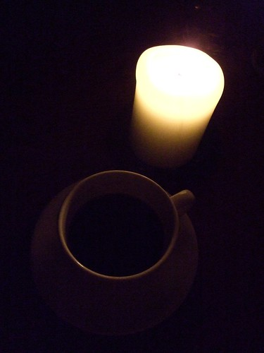 Candle & Coffee Cup