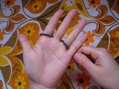 Tricô de dedo 1
