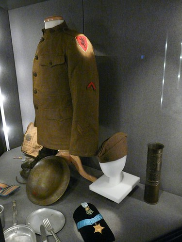 WWI Uniform and Artifacts