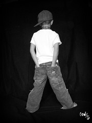 Backwards Cody (Casey Keith) Tags: boy portrait hat blackwhite child naturallight