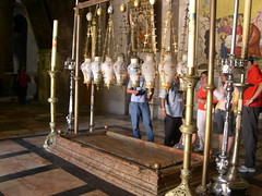 The Stone of Anointing (upyernoz) Tags: church israel palestine jerusalem  churchoftheholysepulchre  oldcity    stoneofanointing