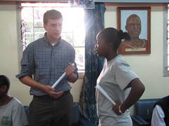 David Kaunda 115 (LearnServe International) Tags: travel school education gabe international learning service 2008 zambia shared lsi cie bycarmen learnserve lsz lsz08 davidkaunda
