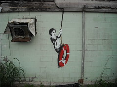Banksy - New Orleans - A Reminder of Our Slowing Recovery