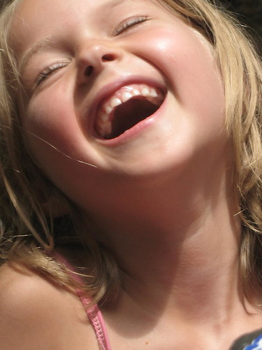 Emily's contagious laugh
