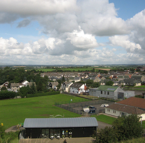 Dundonald from the castle