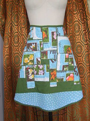Image puzzle2 front (piecesofyou) Tags: original fashion arty handmade creative apron textile fabric layer patchwork artful skirts aprons repurposed reused recyled