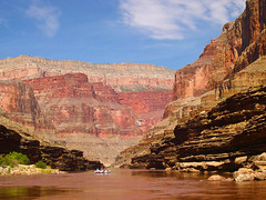 Raft Trip Through Grand Canyon on Colorado River (JLMphoto) Tags: red landscape grandcanyon cliffs explore coloradoriver raft soe anawesomeshot theunforgettablepictures absolutelystunningscapes jlmphoto vosplusbellesphotos