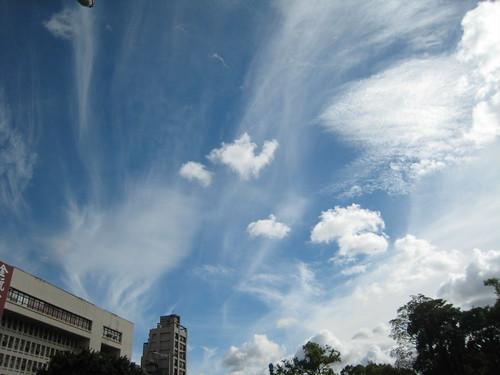 雲都變的很娟秀