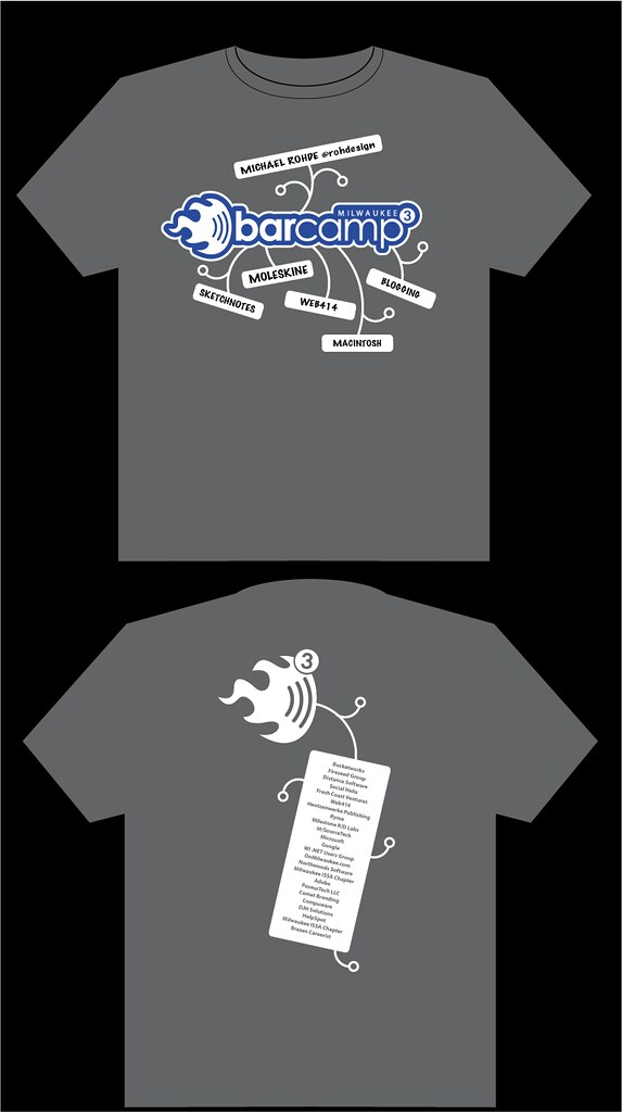 BCMKE3 T-Shirt Design v1.1 (Light Blue)