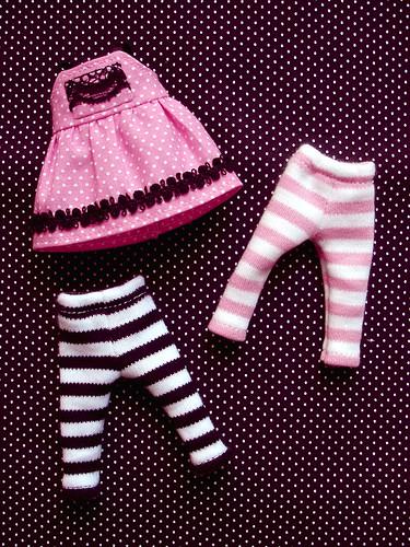Pinky Pink Licca Set