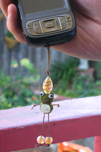 Frog Phone Charm