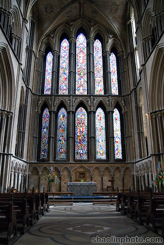 Worcester Cathedral East Window