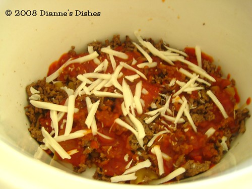 Gluten Free Slow Cooker Lasagna: Fourth Layer