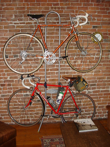 lugged steel Raleigh International bike bicycle touring bike like a Rivendell