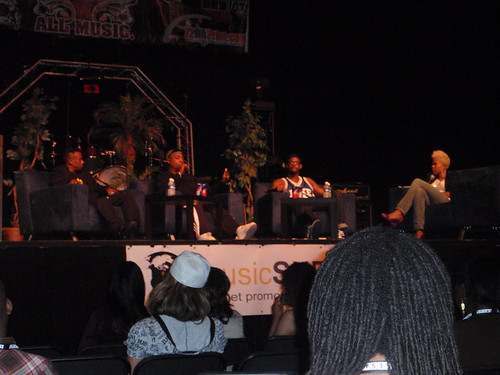 Chuck D and Public Enemy at Atlantis Music Conference in Atlanta, GA